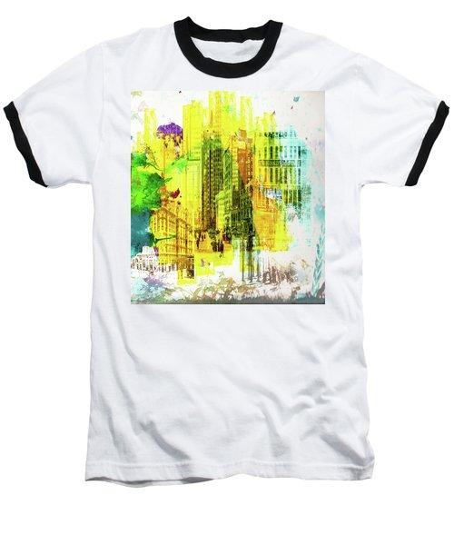 City Splash Baseball T-Shirt