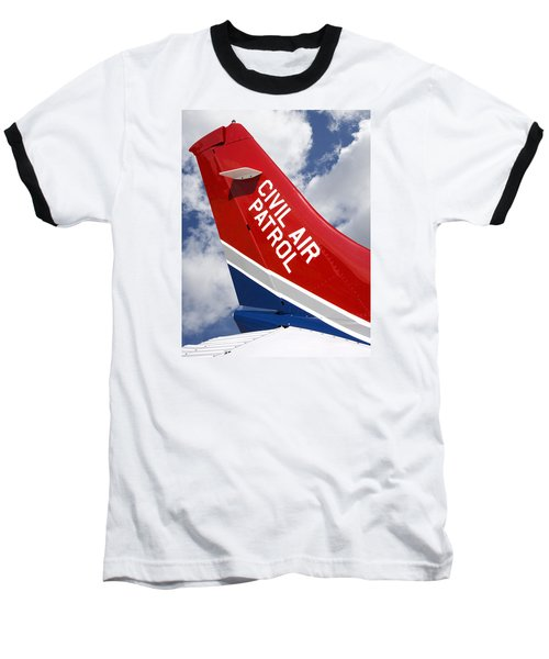 Civil Air Patrol Aircraft Baseball T-Shirt