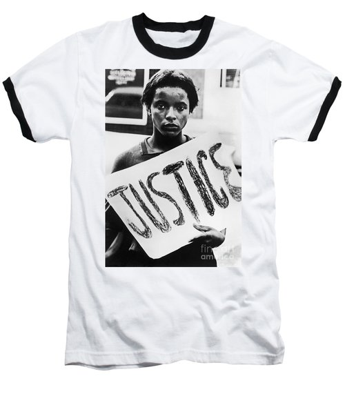 Civil Rights, 1961 Baseball T-Shirt