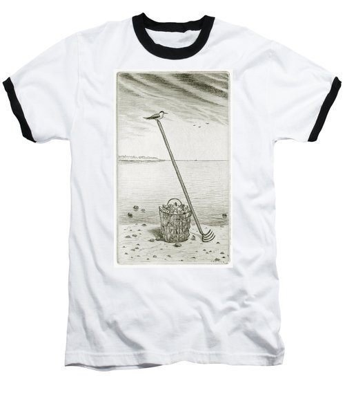 Clamming Baseball T-Shirt