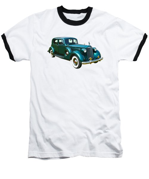 Classic Green Packard Luxury Automobile Baseball T-Shirt