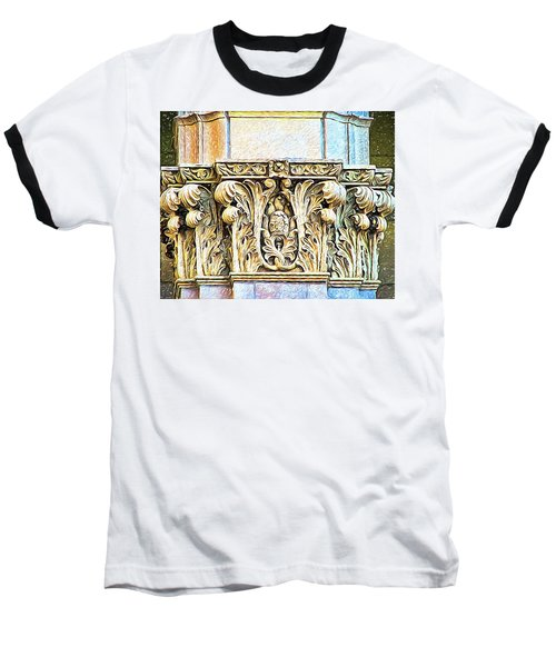 Baseball T-Shirt featuring the digital art Classic by Wendy J St Christopher