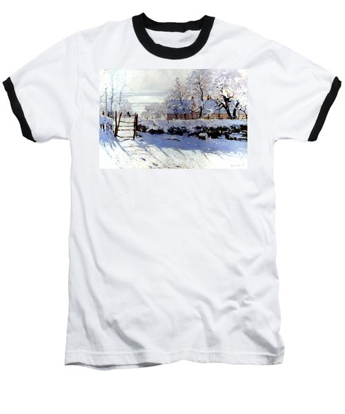 Claude Monet The Magpie - To License For Professional Use Visit Granger.com Baseball T-Shirt