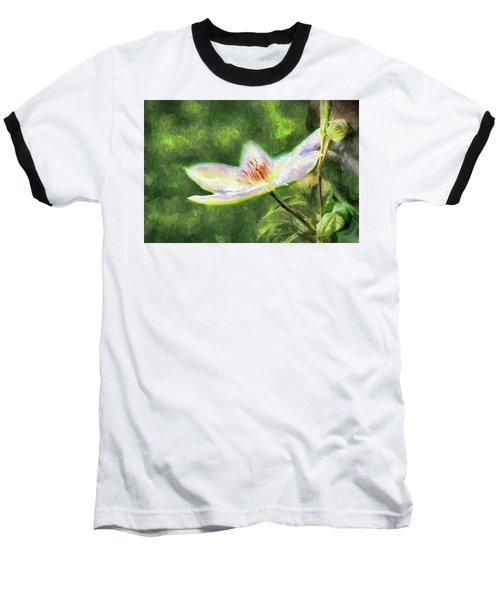 Clematis Study Baseball T-Shirt