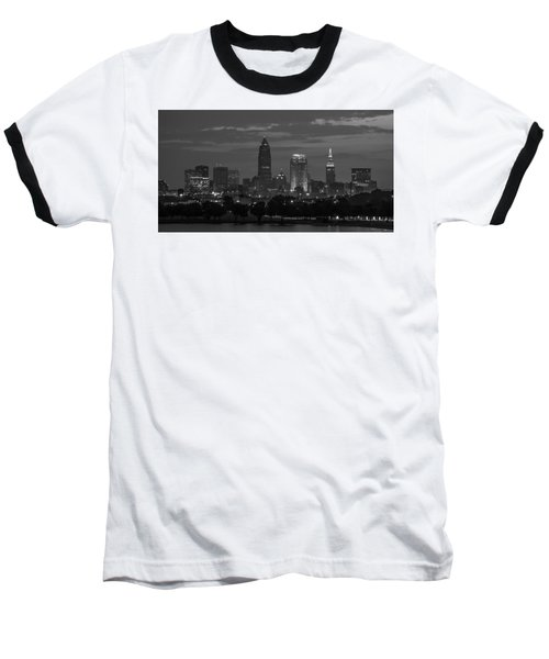 Cleveland After Dark Baseball T-Shirt