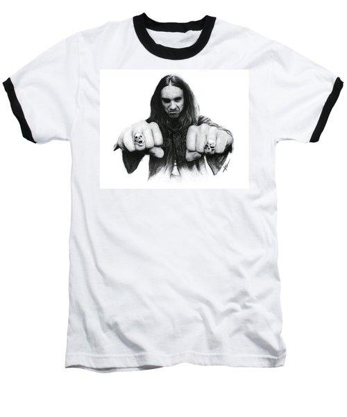 Cliff Burton Baseball T-Shirt
