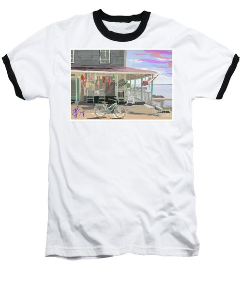 Cliff Island Store 2017 Baseball T-Shirt