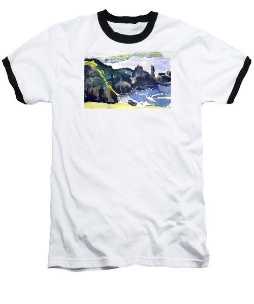 Cliffs In The Sea Baseball T-Shirt