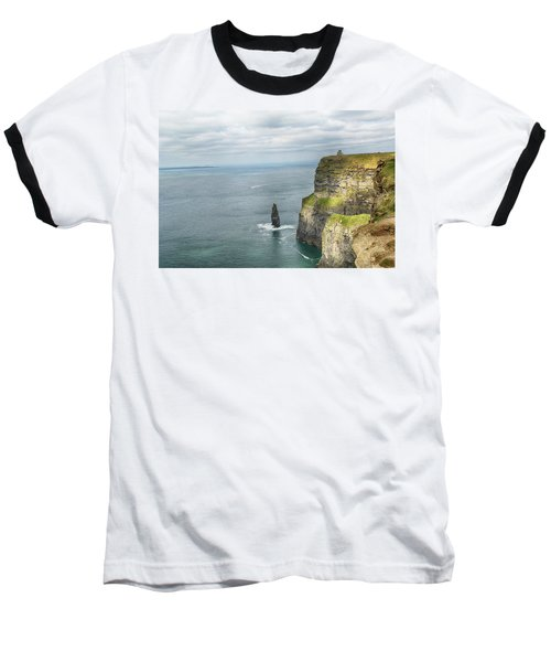 Baseball T-Shirt featuring the photograph Cliffs Of Moher 3 by Marie Leslie