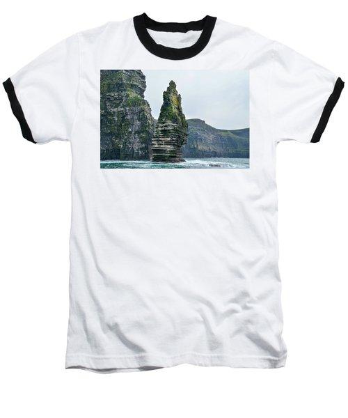 Cliffs Of Moher Sea Stack Baseball T-Shirt