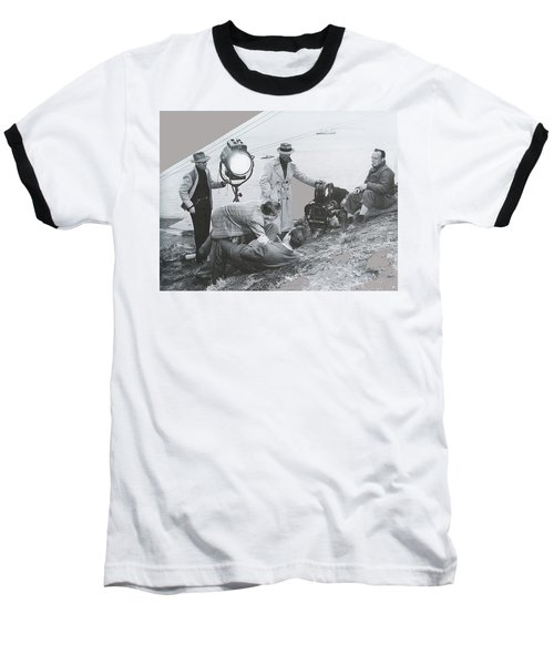 Clifton Young And Bogie Fight To The Death Dark Passage 1947-2016 Baseball T-Shirt