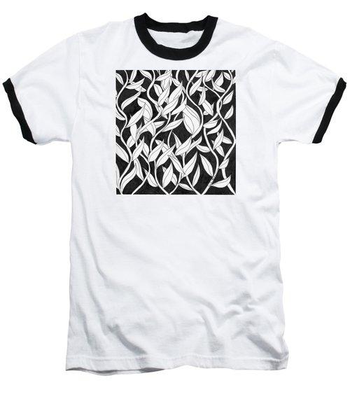 Climb The Vine Baseball T-Shirt by Lou Belcher