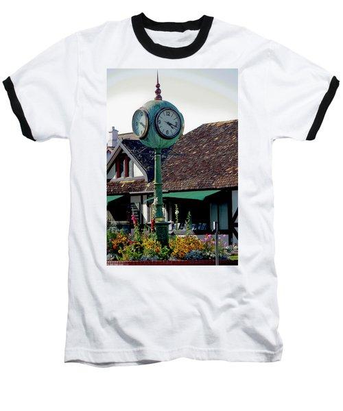 Clock Of Solvang Baseball T-Shirt