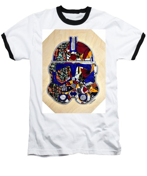 Baseball T-Shirt featuring the tapestry - textile  Clone Trooper Star Wars Afrofuturist by Apanaki Temitayo M