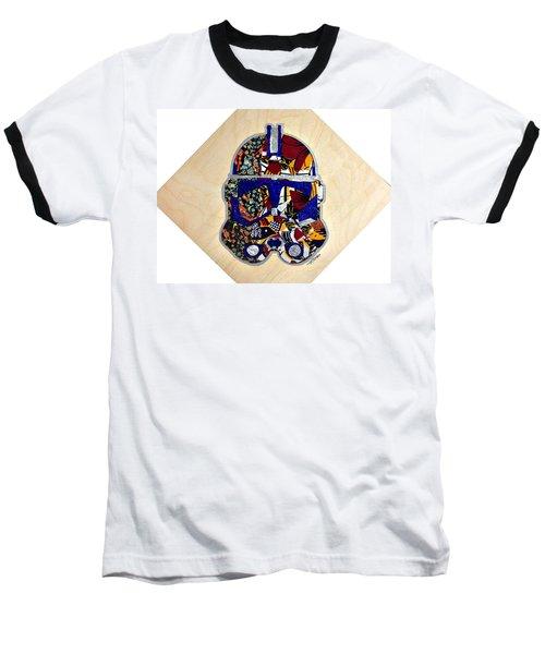 Clone Trooper Star Wars Afrofuturist Baseball T-Shirt