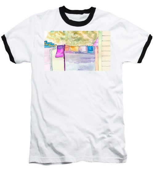 Clothes On The Line Baseball T-Shirt