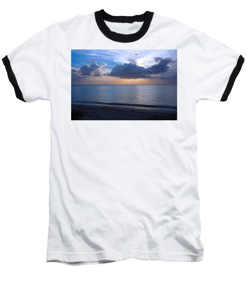 Cloud Creatures At Delnor Wiggins Pass State Park Baseball T-Shirt