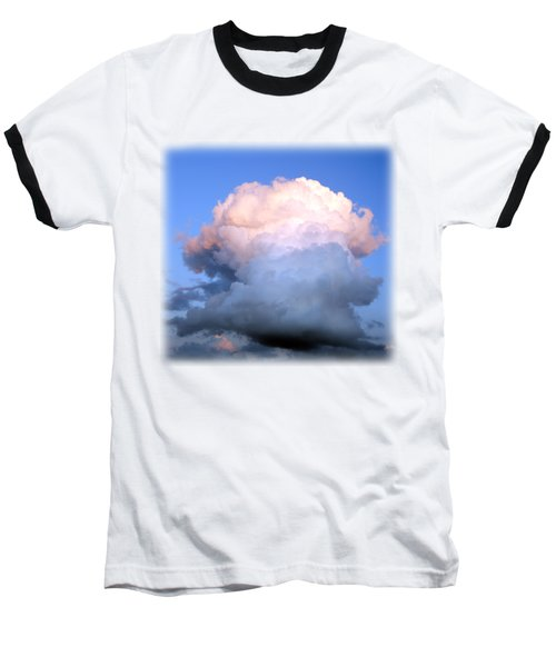 Cloud Explosion T-shirt Baseball T-Shirt