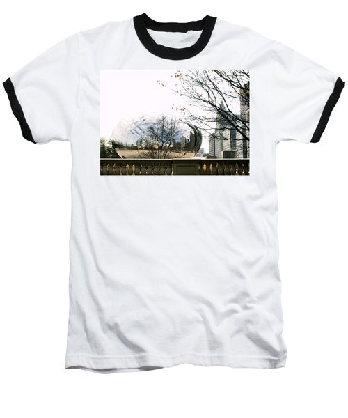 Cloud Gate - 1 Baseball T-Shirt