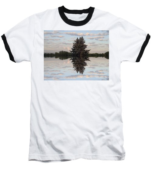 Clouds Up And Down Baseball T-Shirt