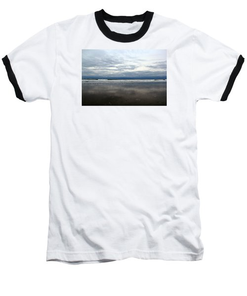 Cloudy Reflections Baseball T-Shirt