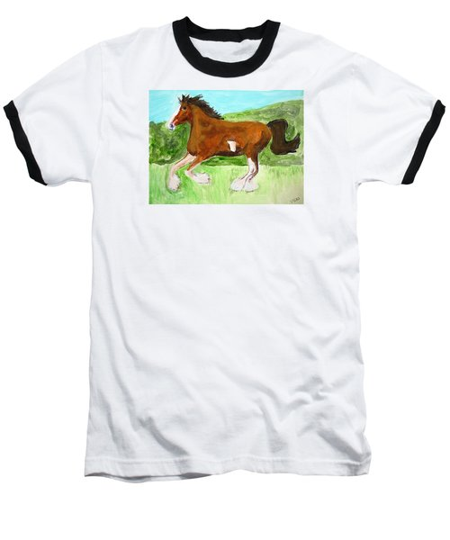 Clydesdale Baseball T-Shirt