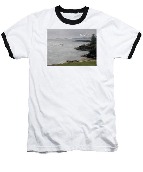 Coastal Maine Baseball T-Shirt by Jewels Blake Hamrick