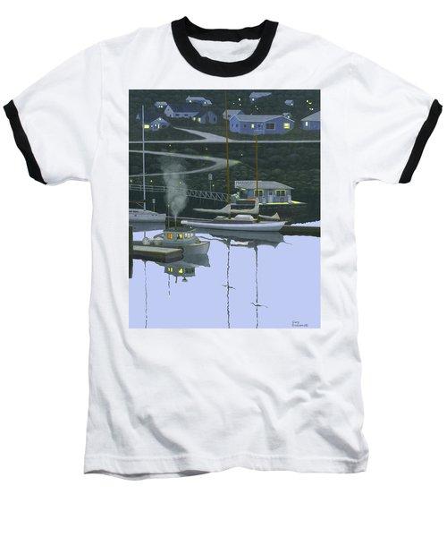 Coastal Morning Baseball T-Shirt