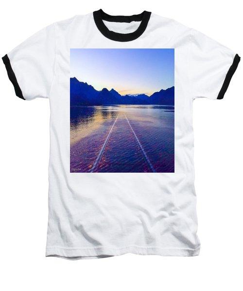 Coastal Rail Road Baseball T-Shirt
