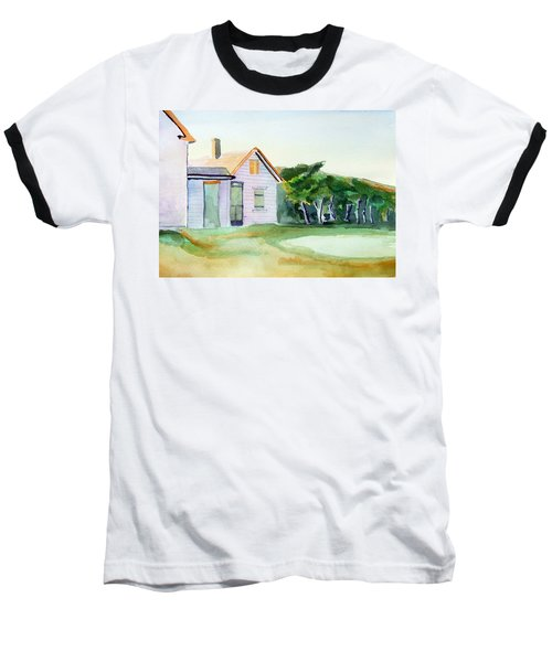 Cobb's House After Edward Hopper Baseball T-Shirt