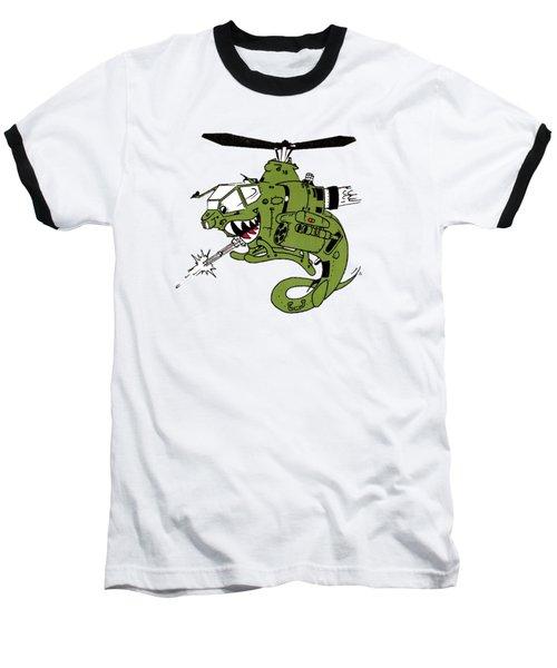 Cobra Baseball T-Shirt by Julio Lopez