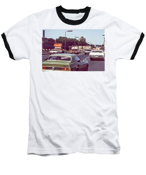 Coca Cola Plant On Central Ave Baseball T-Shirt