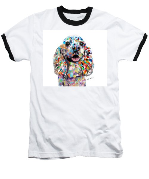 Cocker Spaniel Head Baseball T-Shirt