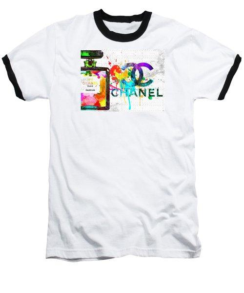 Coco Chanel No. 5 Grunge Baseball T-Shirt