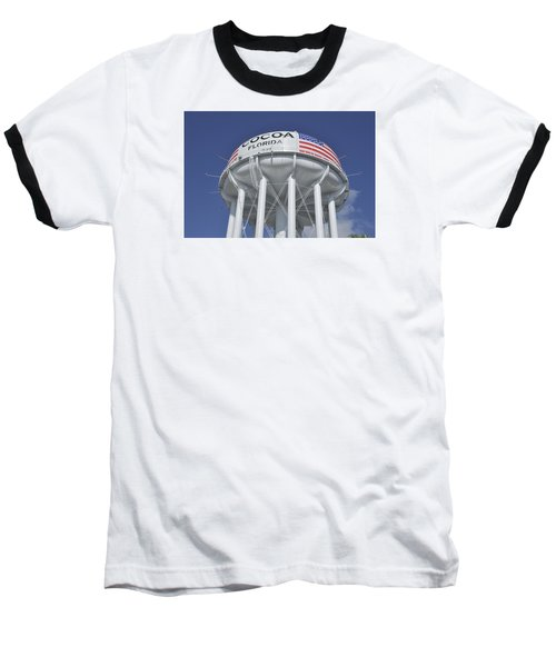 Baseball T-Shirt featuring the photograph Cocoa Florida Water Tower by Bradford Martin