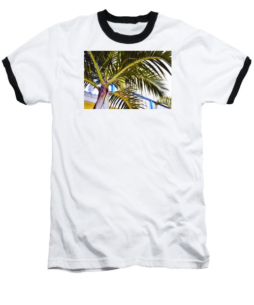 Coconut Cover Baseball T-Shirt by JAMART Photography