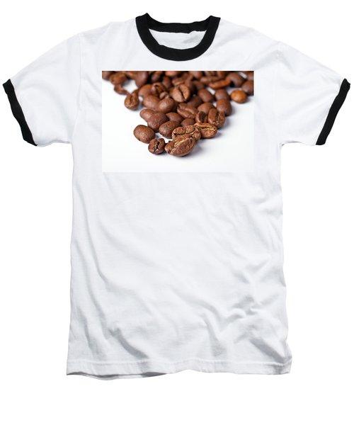 Baseball T-Shirt featuring the photograph Coffee Beans by Gert Lavsen