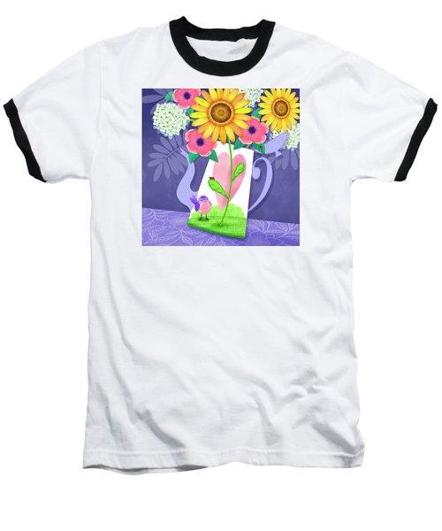 Coffee Pot Surprise Baseball T-Shirt