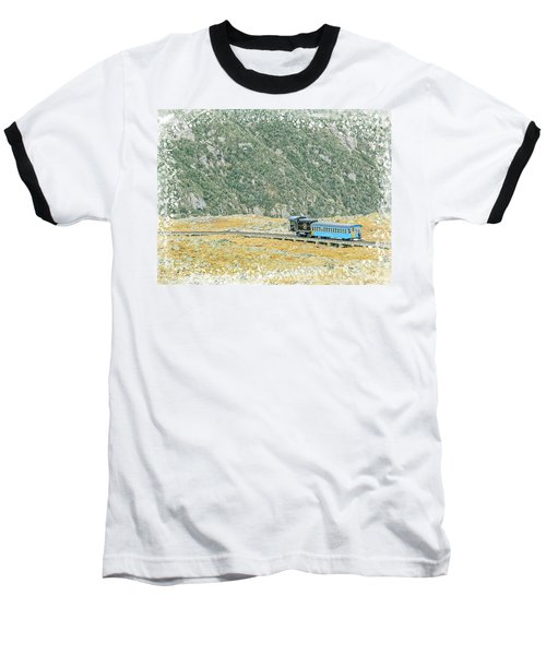 Cog Railroad Train. Baseball T-Shirt