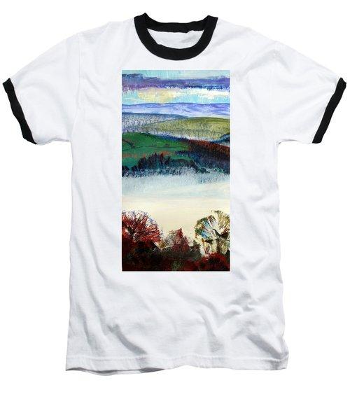 Cold Bright Morning England Baseball T-Shirt