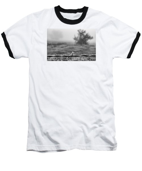 Baseball T-Shirt featuring the photograph Cold Frosty Morning by Monte Stevens