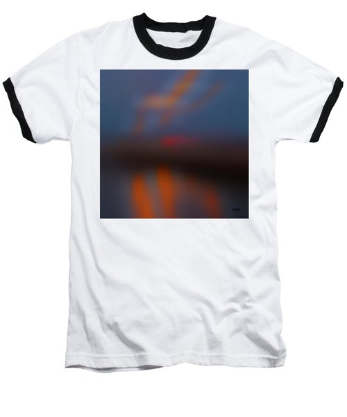 Color Abstraction Lxiii Sq Baseball T-Shirt