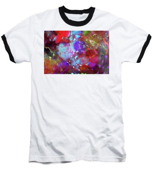 Color Burst Baseball T-Shirt by AugenWerk Susann Serfezi