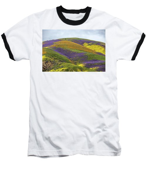 Baseball T-Shirt featuring the photograph Color Mountain I by Peter Tellone