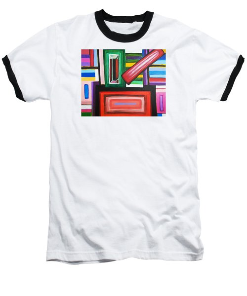 Color Squares Baseball T-Shirt