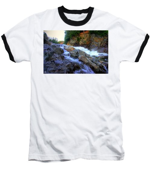 Color Steps At Livermore Falls Baseball T-Shirt