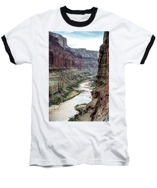Colorado River And The East Rim Grand Canyon National Park Baseball T-Shirt