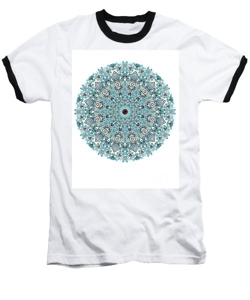 colorDrawMandalalesson Baseball T-Shirt