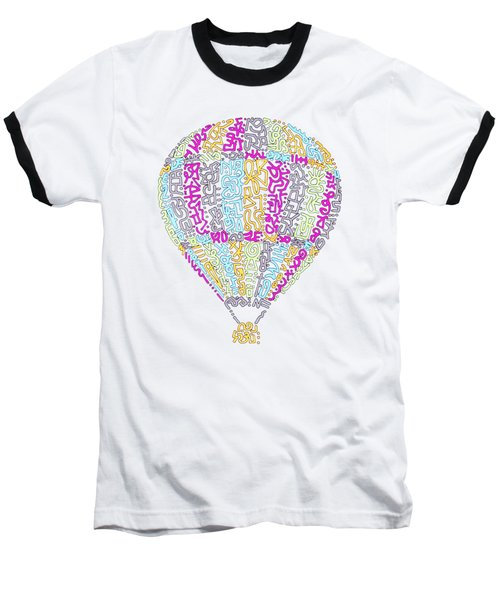 Colorful Baloon Baseball T-Shirt