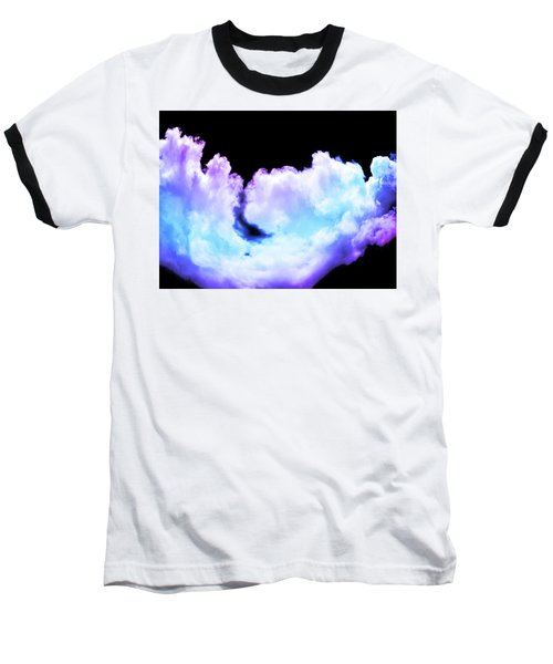 Colorful Clouds Baseball T-Shirt